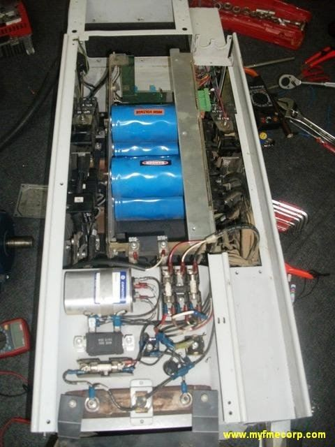 DANFOSS VLT 5000 INVERTER 55KW CHECKING AND REPAIR IN WOOD PLANT JOHOR MALAYSIA(PHASE LOSS)
