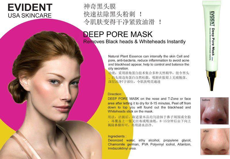 Evident Deep Pore Mask