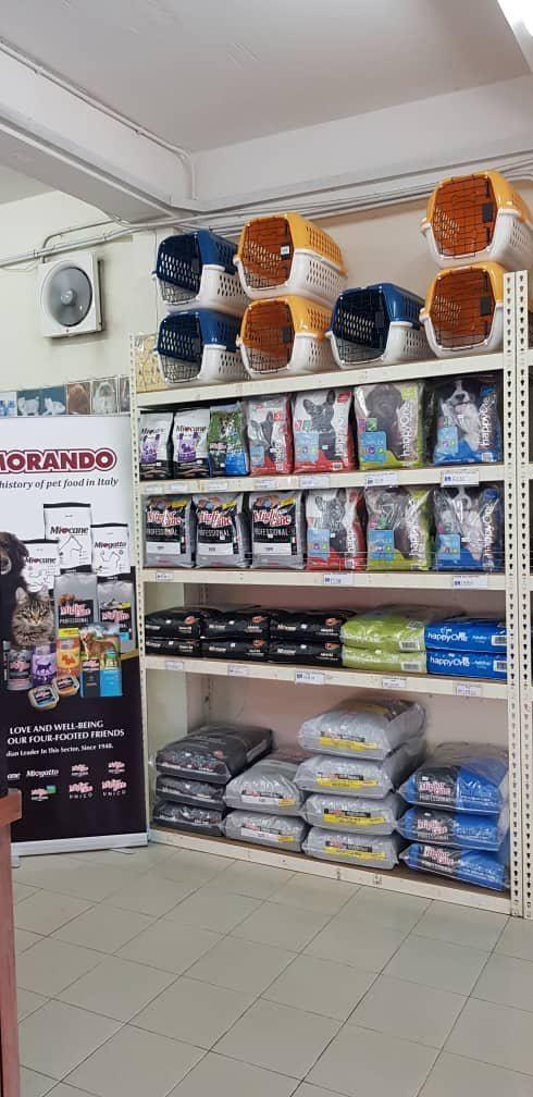 Morando full range dog+cat dry food landed in Kuching & Miri, Sarawak