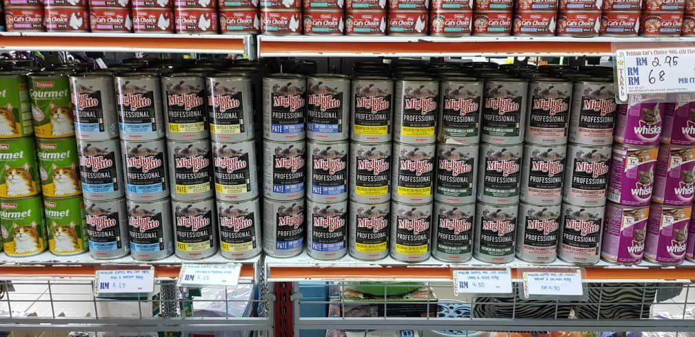Morando full range cat wet food landed in Kuching & Miri, Sarawak