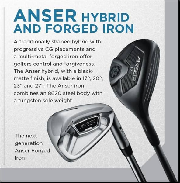 Ping Anser Black Hybrids and PING Anser 2013 new Irons