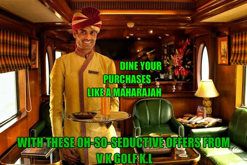 The Maharajah Shopping Experience Redefined at V K Golf!