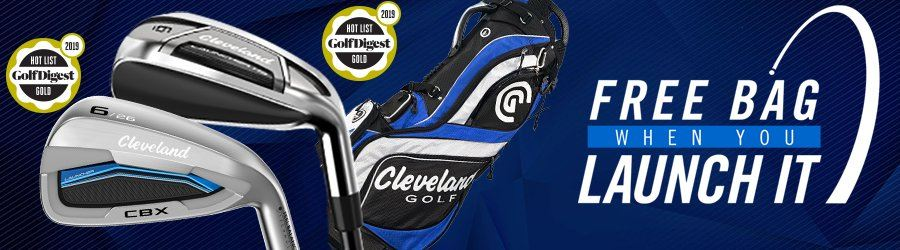 1 day Sale - Buy any Cleveland irons and Get a Free Stand Bag!