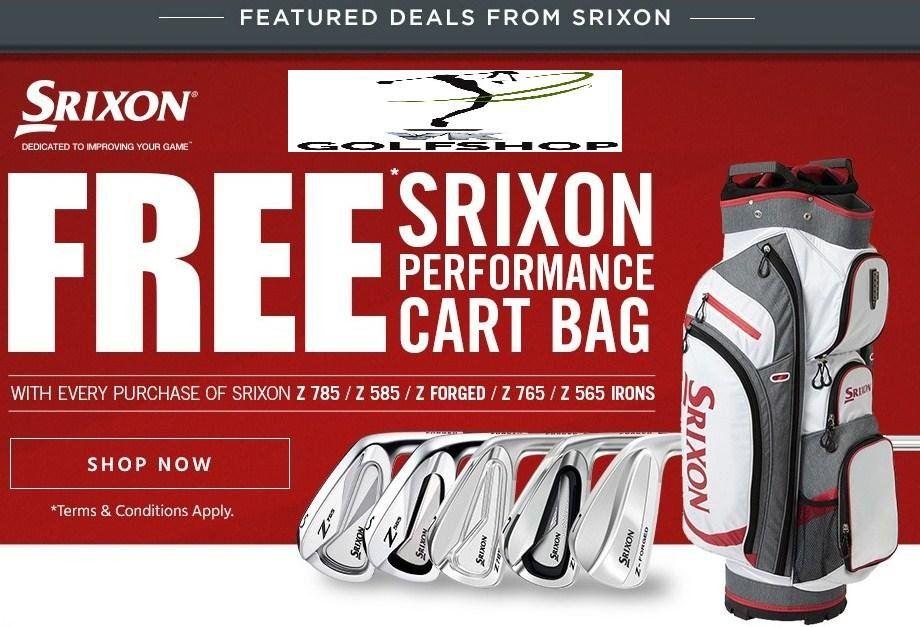 Srixon Z Series Irons Promo !