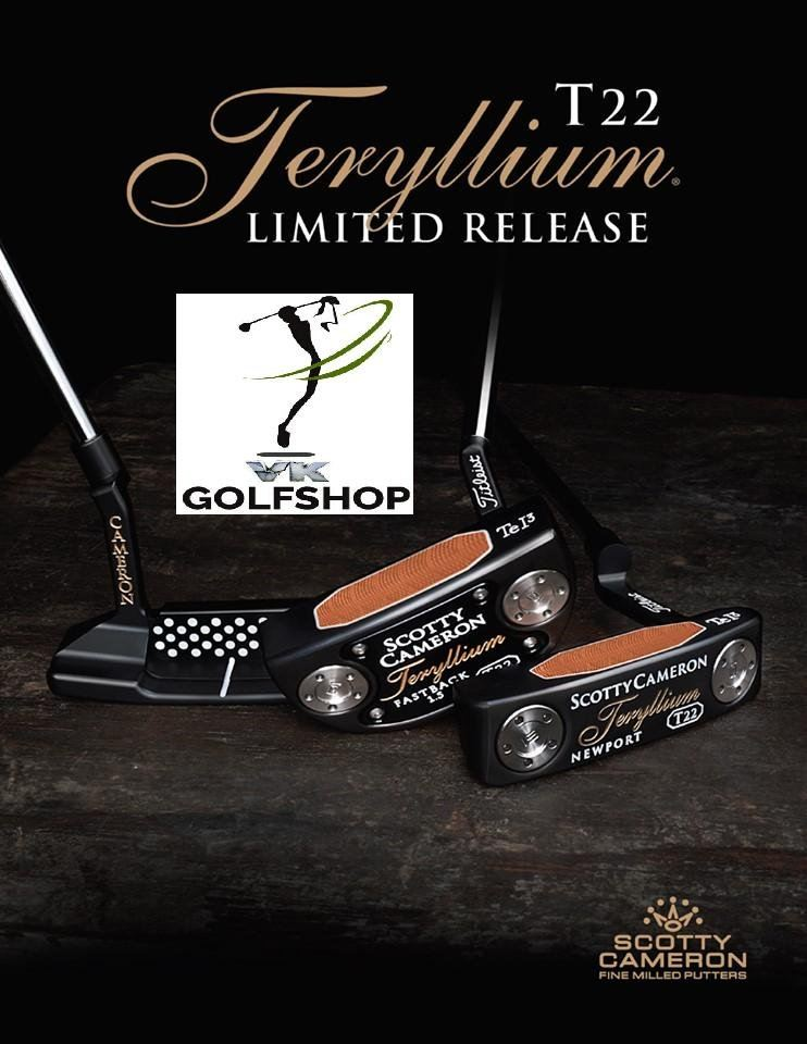TR22 Limited Release Putters are available via ONLINE PRUCHASES at VKGolf Online Store now!
