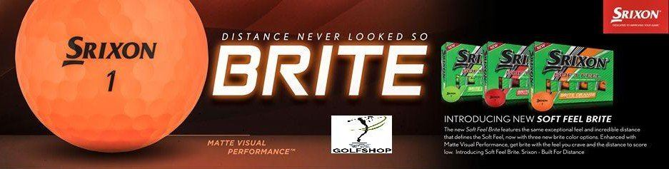Light Up your Golf Game Event Balls Logo Print with US on the New Srixon BRITE Golf Balls!
