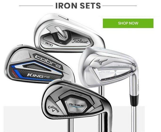 IRONS SALE GALORE at the No 1 Affordable Deals Golf Store!