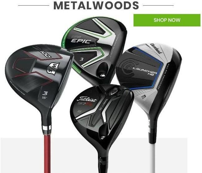 Metal Woods that will ROCK your STANCE away at VKGolf!