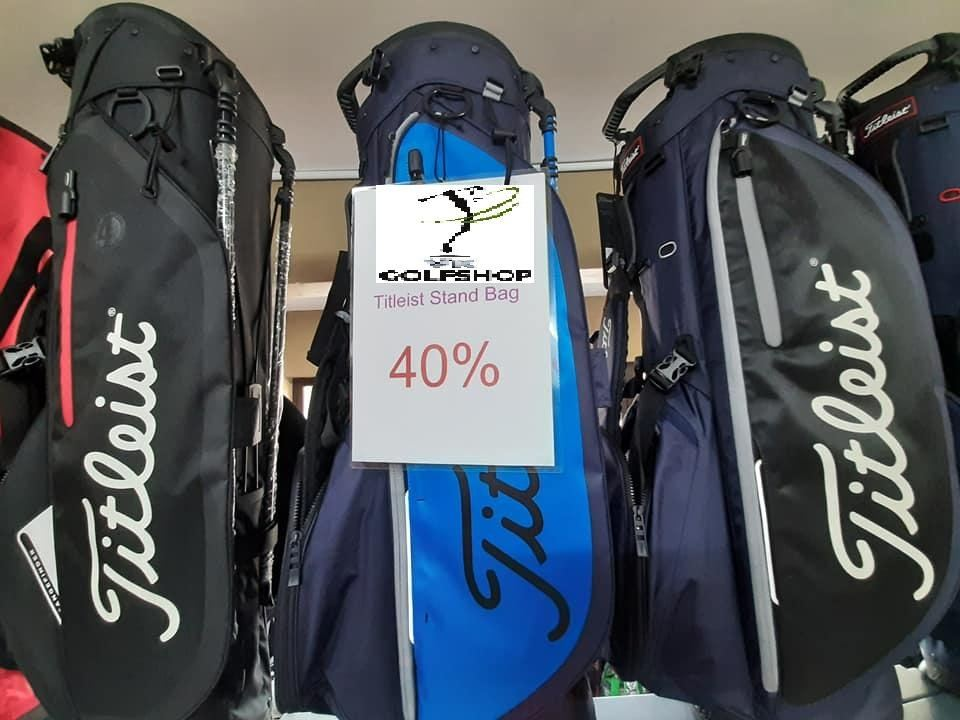 AFTER 40% ITS ONLY ON SALE AT RM599 - GRAB THE 2019/2020 TITLEIST STAND BAG FROM US!