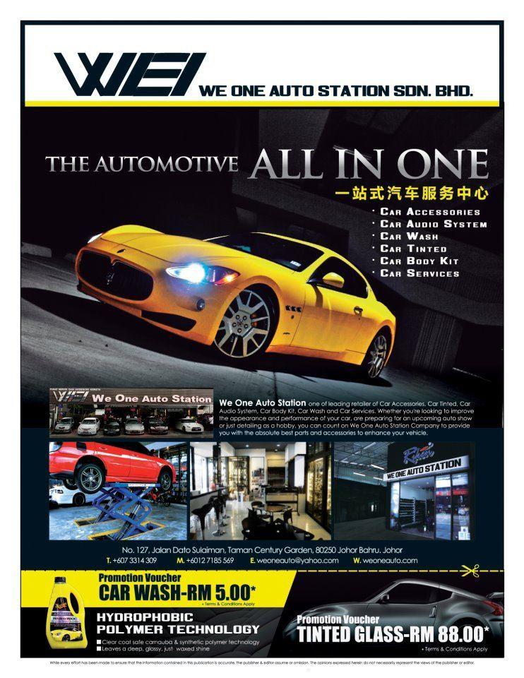 CAR ACCESSORIES IN JB - WE ONE AUTO STATION