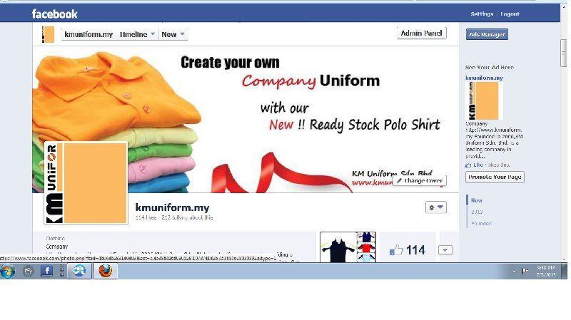 https://www.facebook.com/kmuniform.my