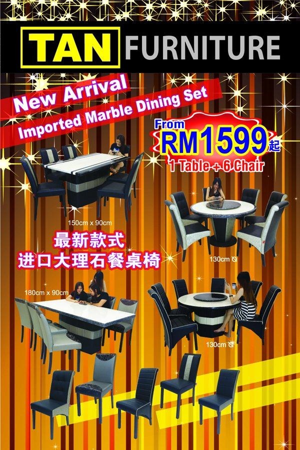 Sales !! New Arrival Imported marble Dining Set