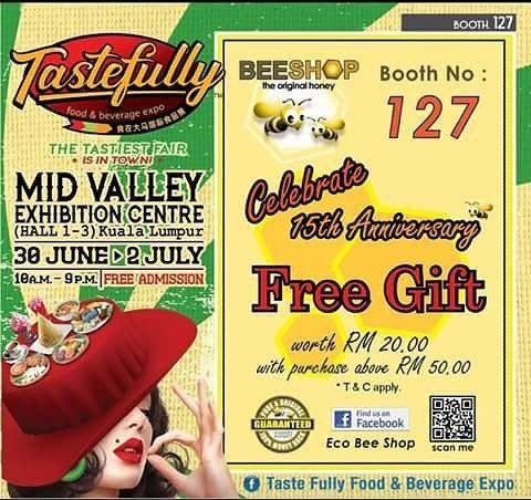 ECO BEE SHOP@Mid Valley Exhibition Centre (MIVEC), KL