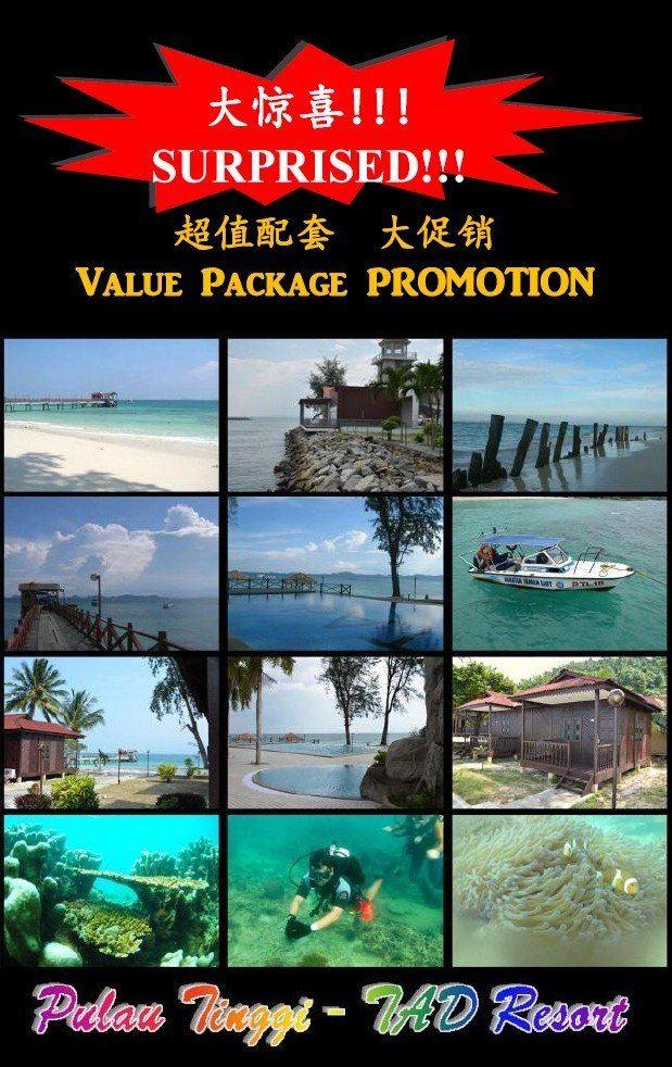 TAD Merine Resort-Pulau Tinggi