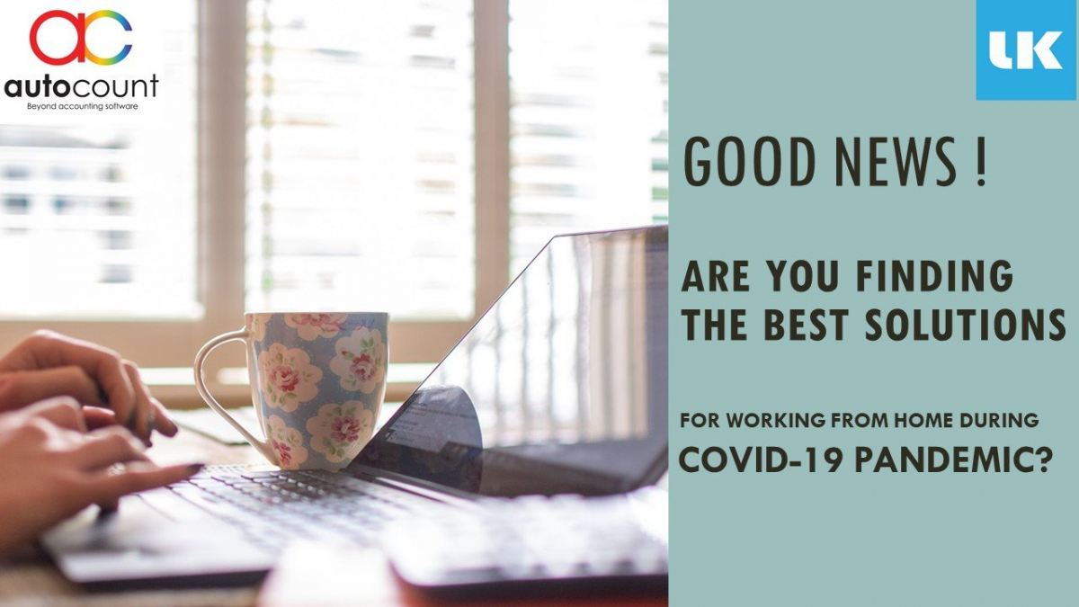 Best solutions of work from home during Covid-19 pandemic