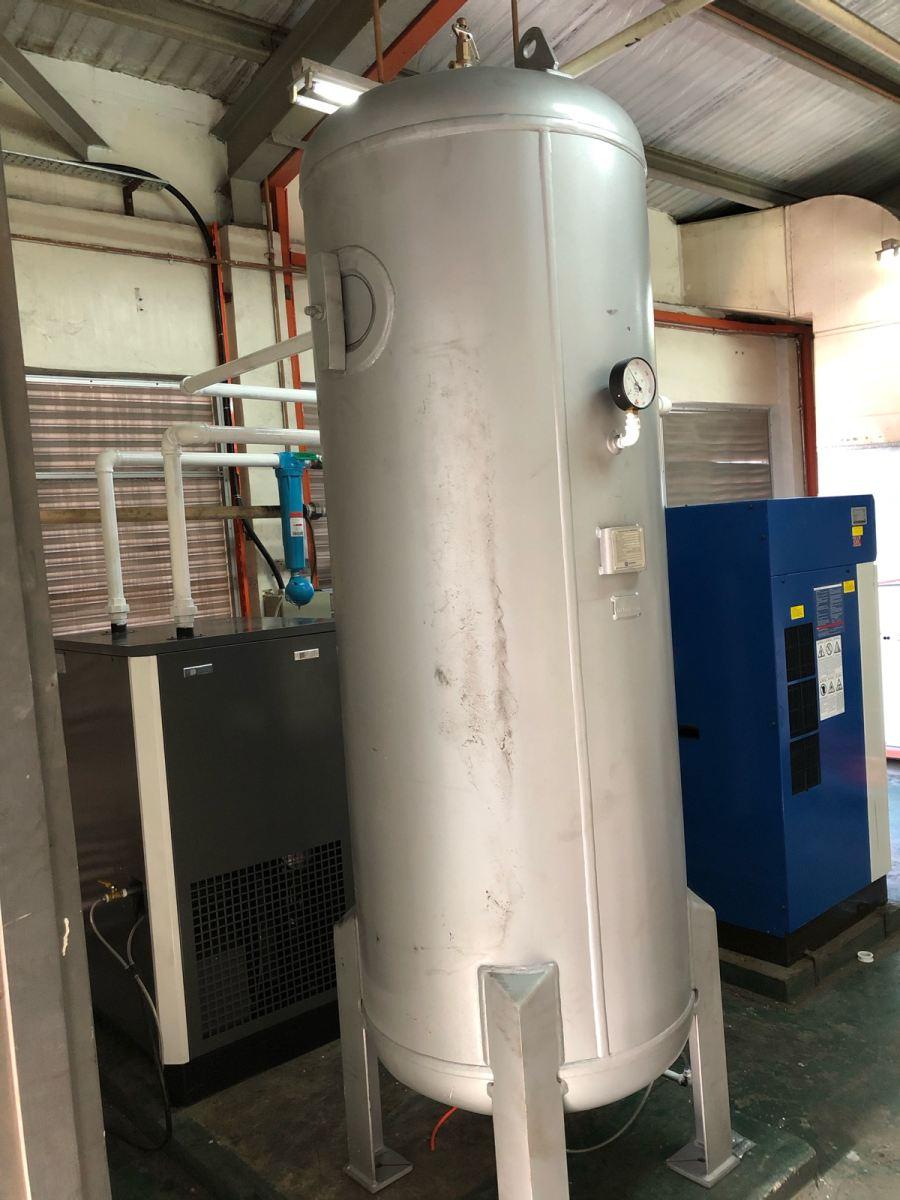 New Installation 1000 Litres Dancomair Air Receiver Tank