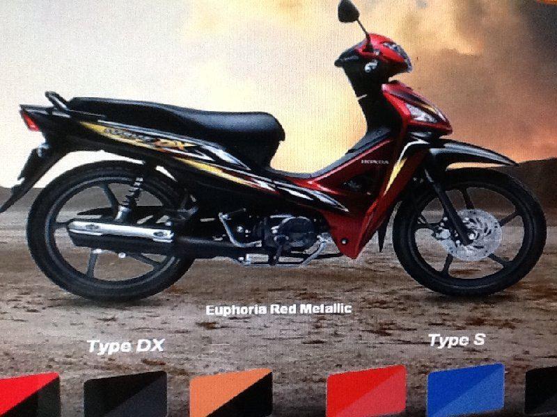 HONDA WAVE 110 CASH RM4188.00 Deposti RM188.00 TEL:07-5204515