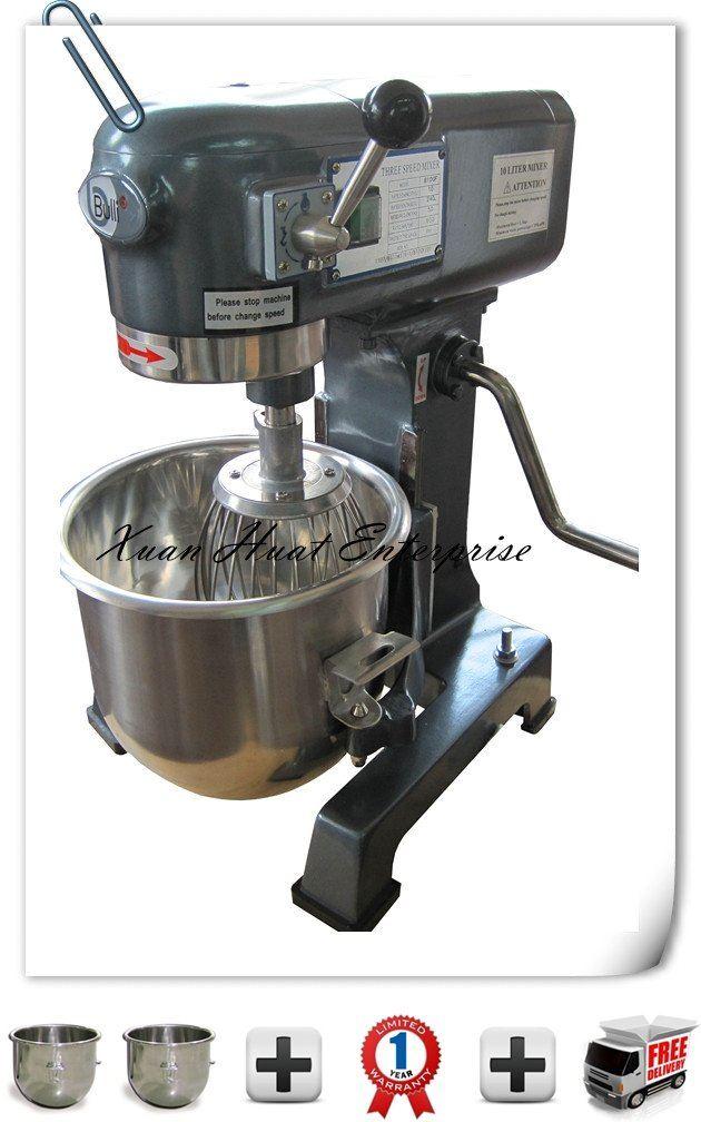 Bulli 10L Universal Flour Mixer/ Pengadun Tepung 10L (Bulli)  十Litre面粉/面团搅拌机