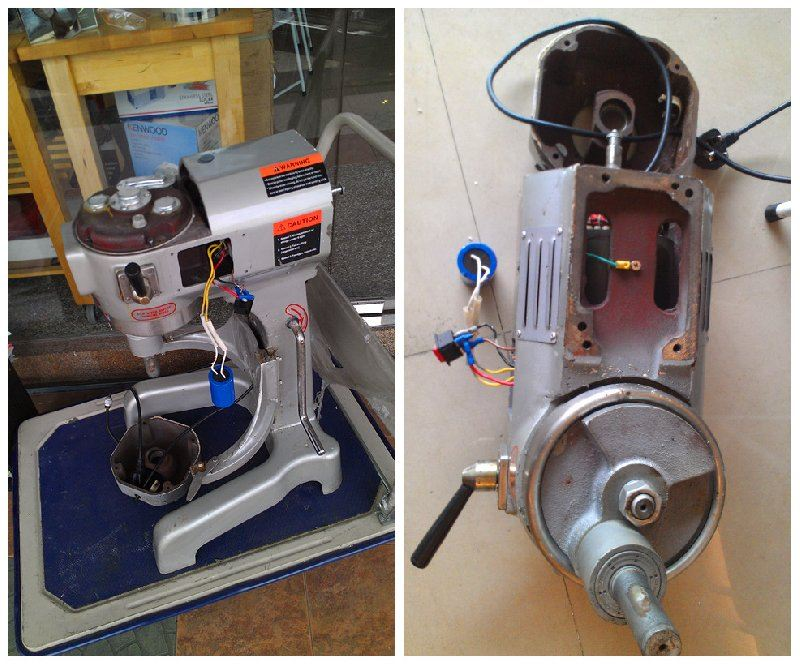 搅拌机维修 | Membaiki Pengadun/Penguli Tepung | Universal Flour Mixer Repair