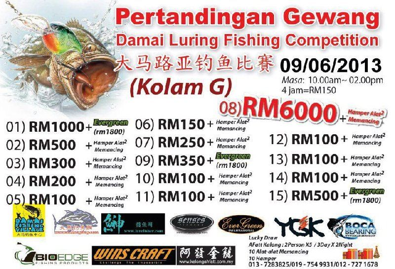 FISHING COMPETITION 09 JUNE 2013