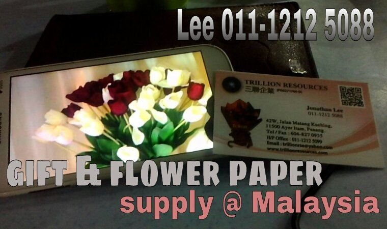 Flower paper supply in Malaysia