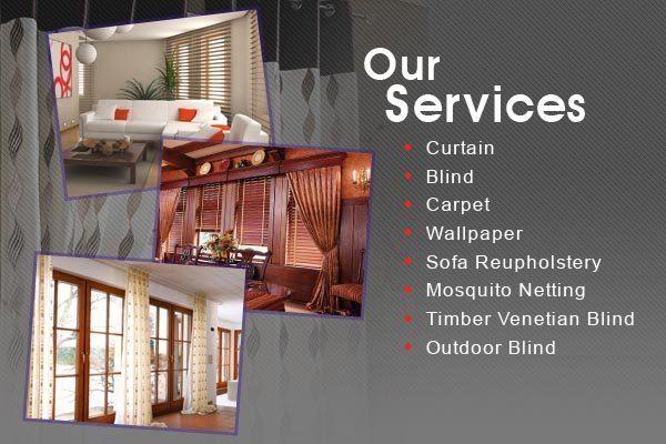 Curtain Design, Blind, Carpet, Sofa Cleaning, Carpet Cleaning in Selangor & Kuala Lumpur