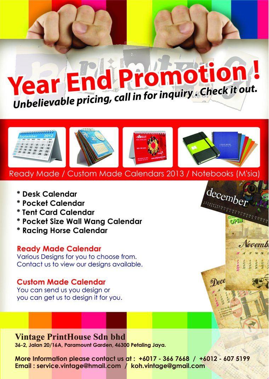 Calender Promotion