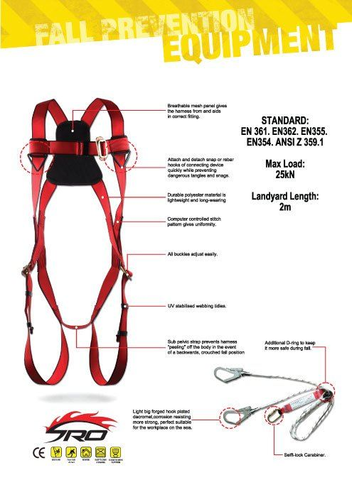 New product!! Safety Harness with supreme protection
