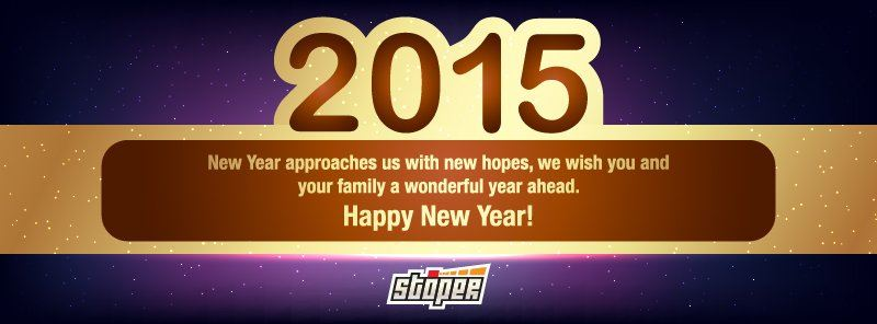 2015 a new year with new peace, new happiness. Happy new year!