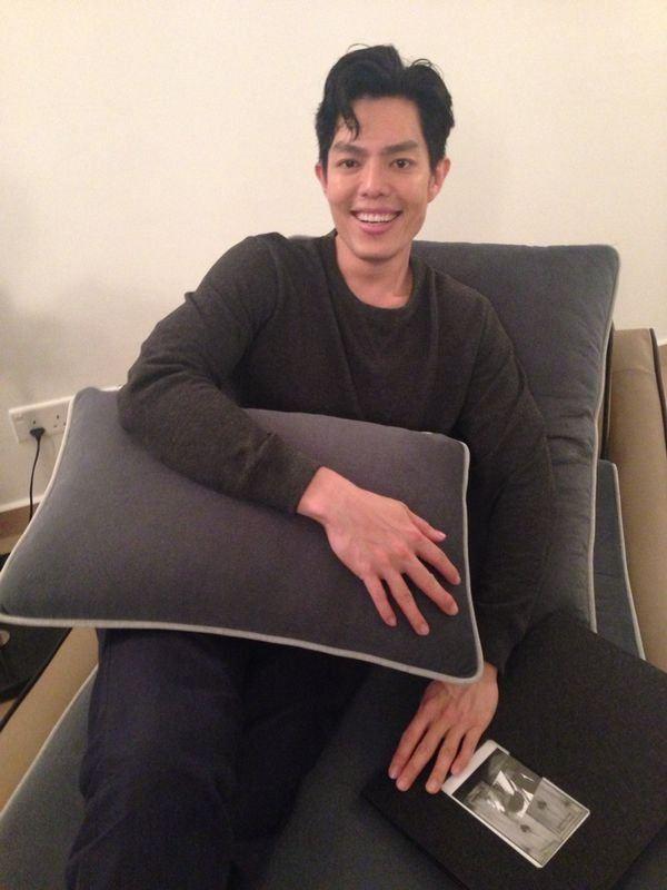Zhang Yao Dong relaxing at VS314 fabricated by VG