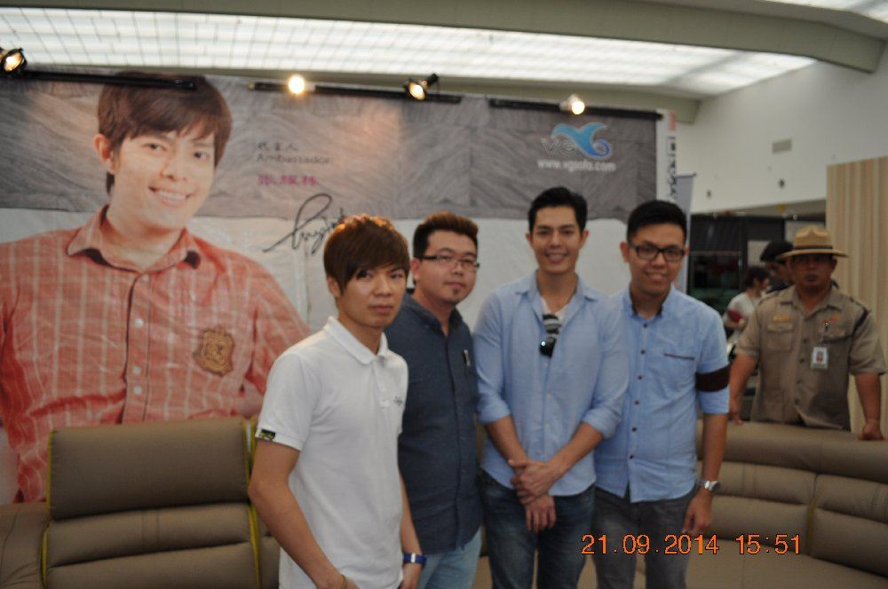Fair @ Sutera Mall: Yao Dong with VG's Dealer
