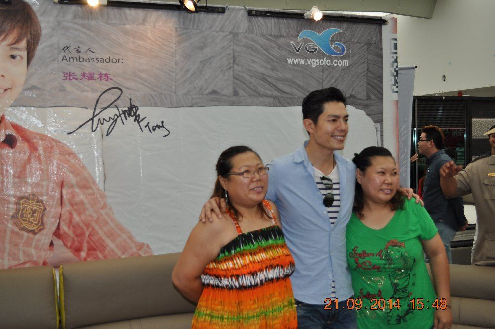 ....with fans