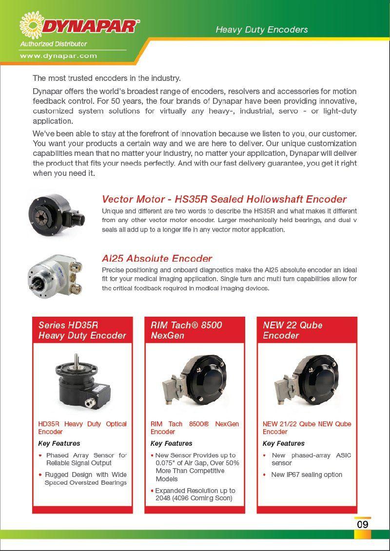 FEG is Authorized Distributor DYNAPAR Motor Encoder Encoders Malaysia Johor Penang Melaka Selangor
