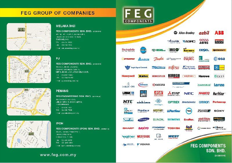 Get Your Latest Copy of FEG Components - Formerly Farnell Electronics Industrial Catalogue Today