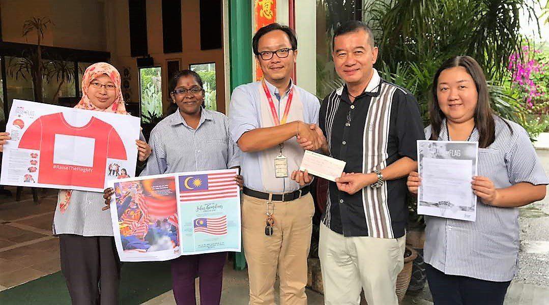 ' The Star Raise The Flag ' Event
