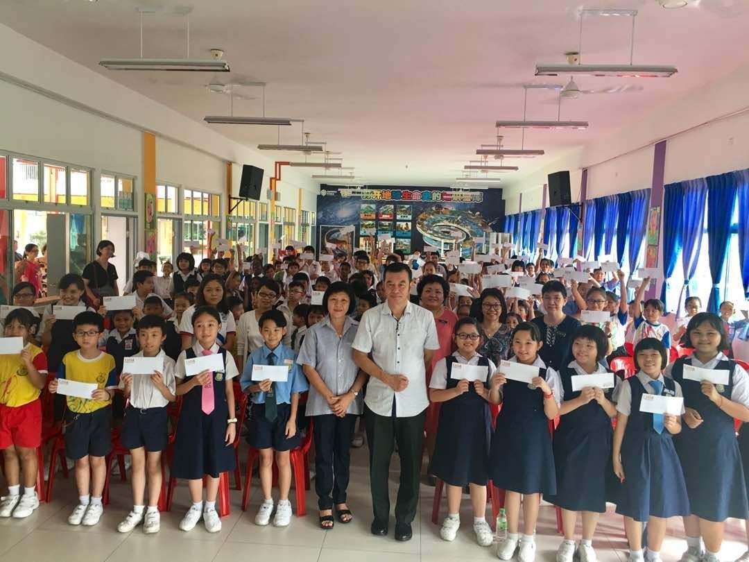 08.06.2018 Study Aid Donation of RM29,000 distributed to 145 pupils from Kepong Area