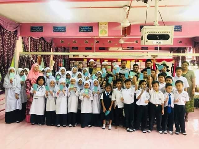 SK Seksyen 2 Bandar Kinrara, Puchong pupils received Study Aid donation from P.A.S.S.