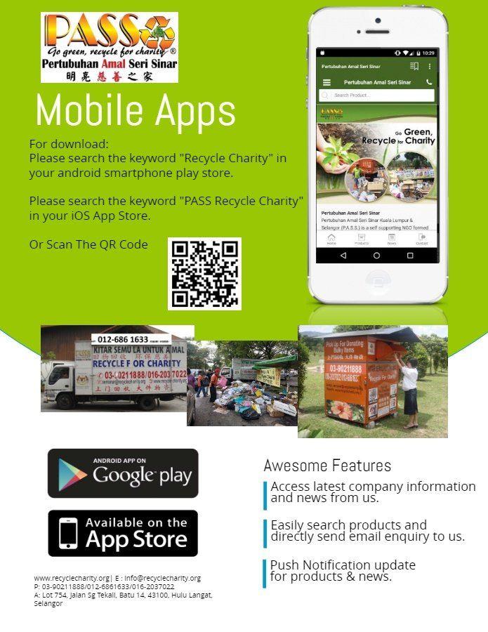 Pertubuhan Amal Seri Sinar Mobile Apps