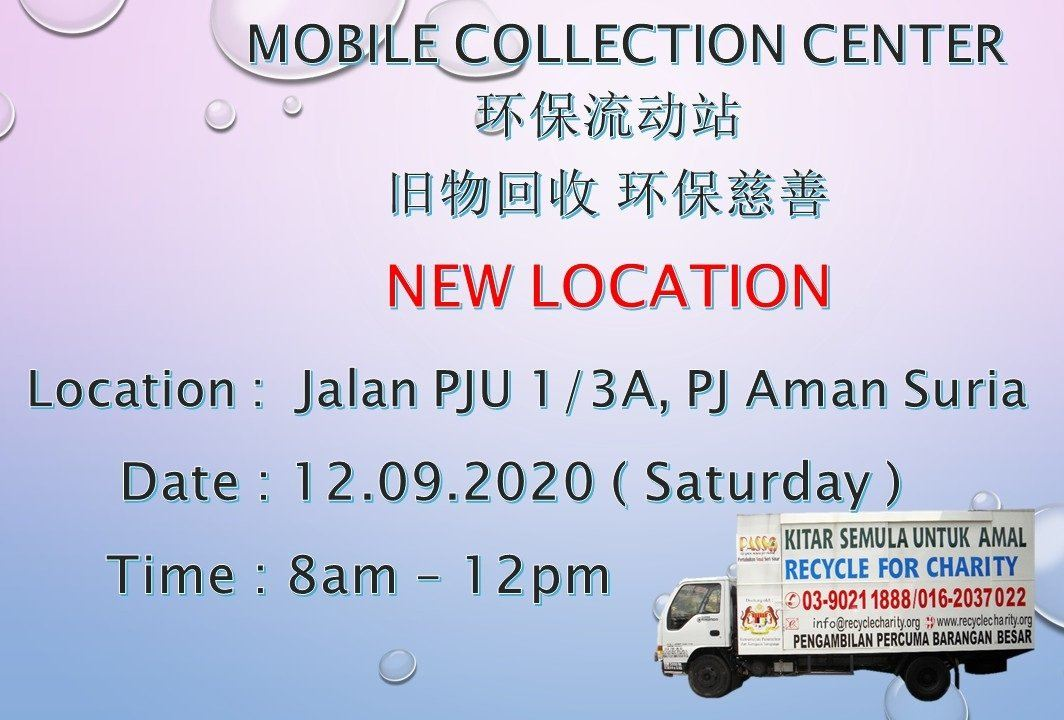 Here we announce New Location for Mobile Collection