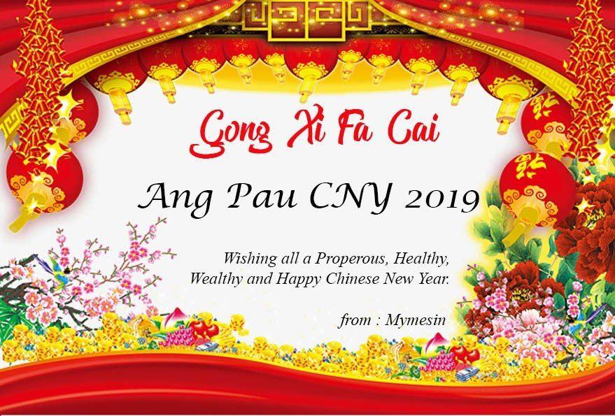 Angpau CNY 2019!