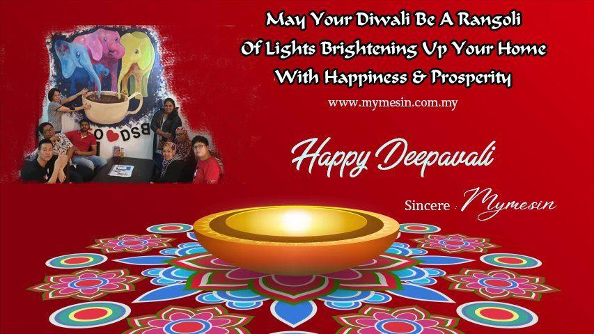 Happy Deepavali From Mymesin