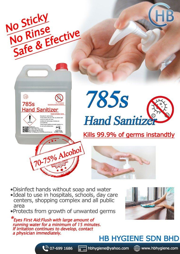 785s Hand Sanitizer