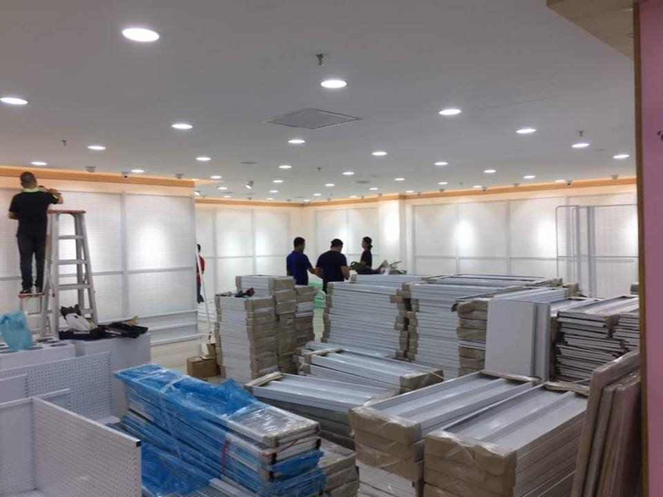 Project at Kuching Viva City Mall.