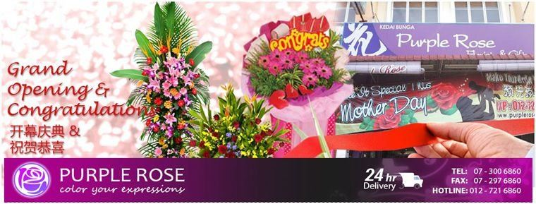 Flower Stand Delivery Services Johor Bahru