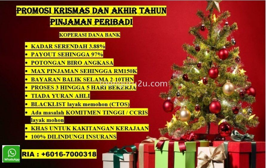 CHRISTMAS AND YES PROMOTION