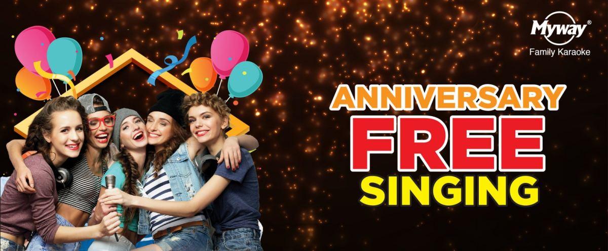 Anniversary Free Singing