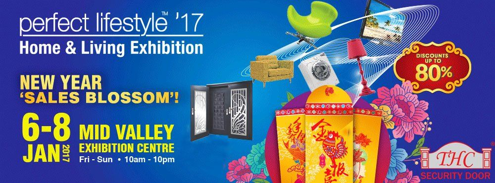 Exhibition at Mid Valley on 6-8th Jan 2017