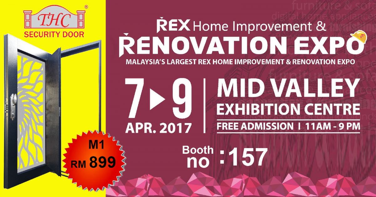 Exhibition at Mid Valley on 7-9th April 2017