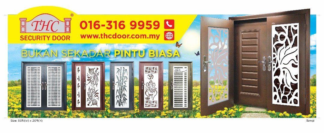 THC Security Door Billboard at Bangi