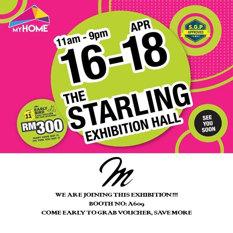 MyHome Starling Mall 16-18/04/2021